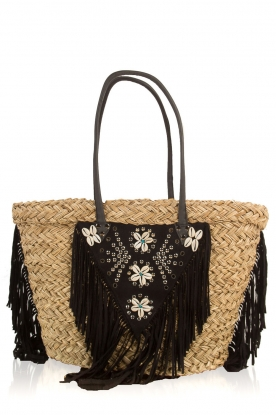 Hipanema |  Raffia shopper Suzy | brown