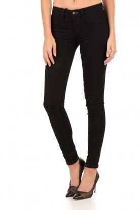High waisted skinny jeans Spray Ybri lengtemaat 32 | zwart