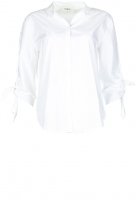 ba&sh |  Blouse Rose | White