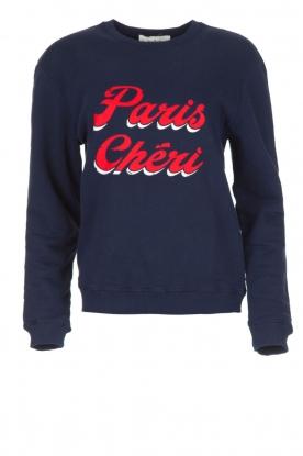 ba&sh | Trui Paris Chéri | Blauw