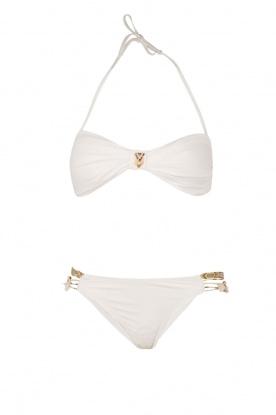 Hipanema | Bandeau bikini Uni | wit