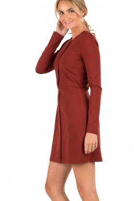 Dress Livine | rust brown