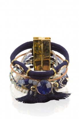 Hipanema | Armband Anthena | blauw