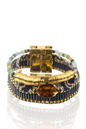 Hipanema | Armband Diva Mini | blauw