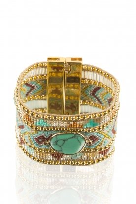 Hipanema | Armband Jaya Twin | goud