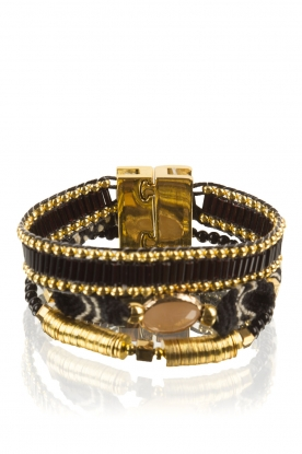 Hipanema | Armband Lana Mini | zwart