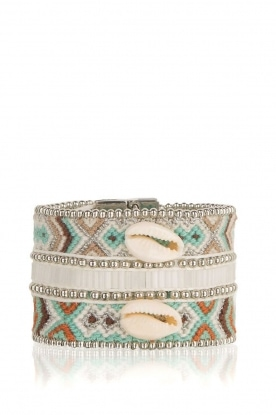 Hipanema | Armband Mona Twin | zilver