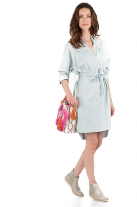 Set | Denim jurk Sissy | blauw