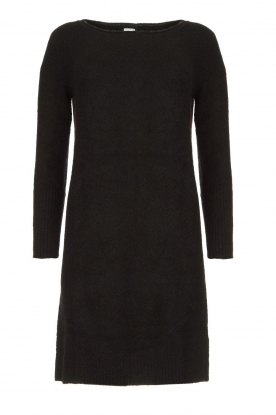Knit-ted | Knitted dress Nancy | black