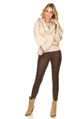 Look Sweater with valance sleeves Cynthia