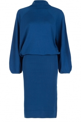 By Malene Birger |  Fine knitted dress Cecie | cobalt blue