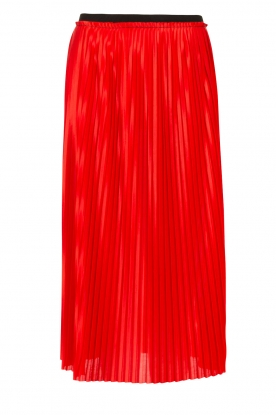 By Malene Birger |  Pleated skirt Miqiau | red