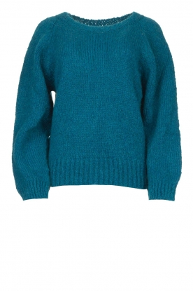 Knit-ted | Knitted sweater Linda | blue