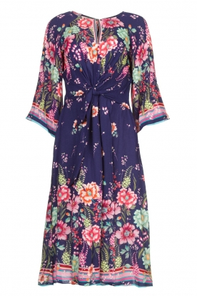 Hale Bob |  Floral dress Chermonia | blue