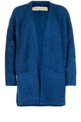 By Malene Birger | Wollen vest Inoa | kobalt blauw