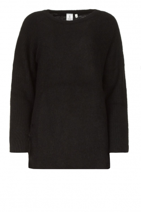 Knit-ted |  Knitted sweater Nila | black