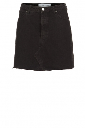 IRO |  Denim skirt Saiaun | black