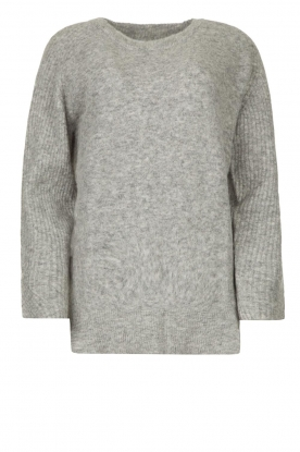 Knit-ted |  Knitted sweater Nila | grey