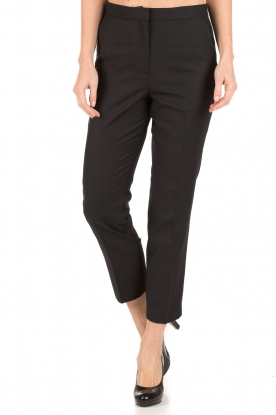 By Malene Birger | Pantalon Aureliane | zwart
