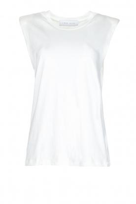 IRO | Top met schoudervulling Kilia | wit