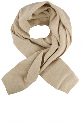 Knit-ted |  Knitted scarf Robine | natural