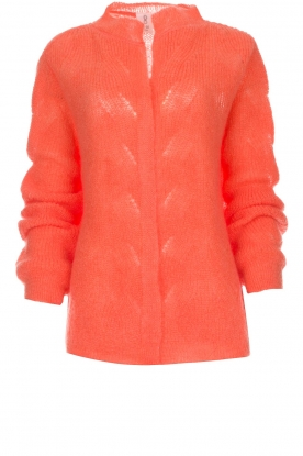 Knit-ted |  Knitted cardigan Avery | orange