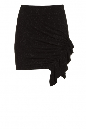 IRO | Skirt with ruffle detail Zilka | black