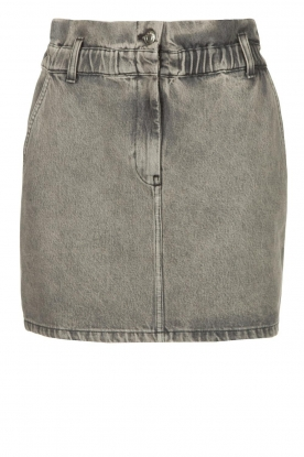 IRO |Denim skirt Sahel | grey