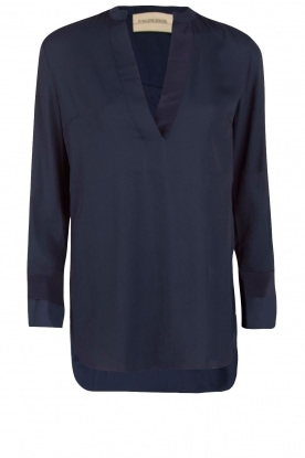 By Malene Birger |  Blouse Gulana | blue