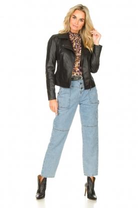 Look Leather biker jacket Maxime