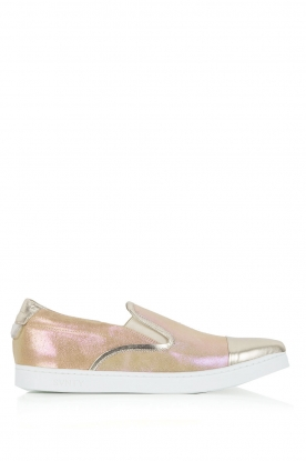 SVNTY | Leren Slip-on Georgie | goud