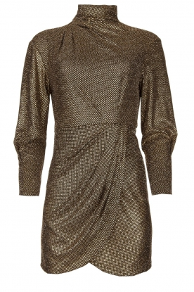 IRO |  Metallic dress Rasile | black
