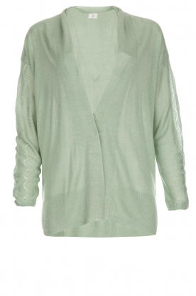 Knit-ted |  Cardigan Liv | green