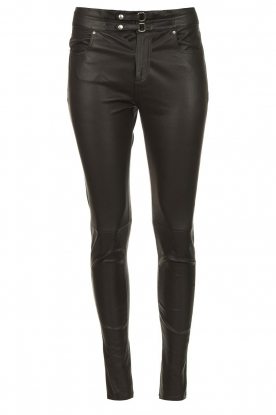 IRO | Leather pants Forn | black
