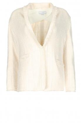 IRO | Bouclé vest Quanto | ivoor