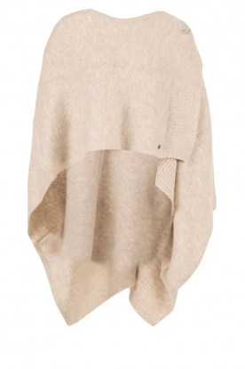 Knit-ted | Poncho Bernou | naturel