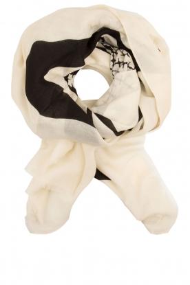 Wollen sjaal Deno   wit