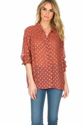 Lolly's Laundry | Blouse Allison | bordeaux