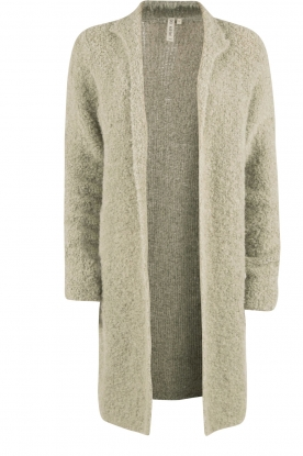 Knit-ted |  Knitted cardigan San | soft green