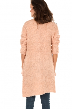 Knitted cardigan San | soft pink