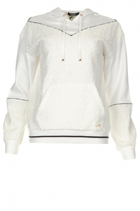 Liu Jo |Boucle sweater Hera | wit