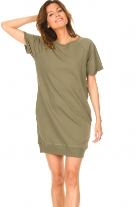 Blaumax |  Sweater dress Queens | green