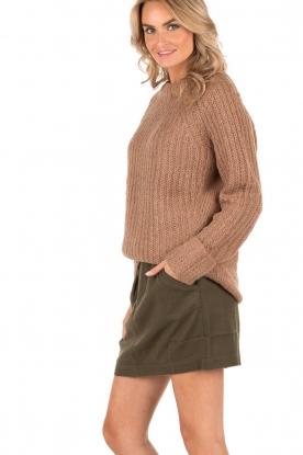 Knit-ted | Grofgebreide Daphne | bruin