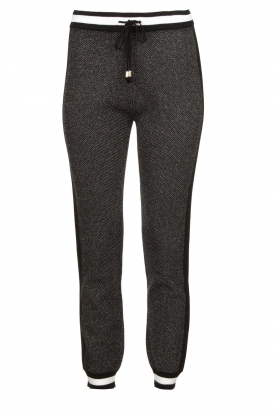 Liu Jo | Sweatpants with lurex details Coraly | grey
