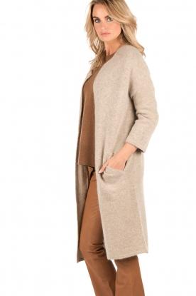 Knit-ted | Vest Xandra | camel