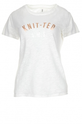 Knit-ted |  T-shirt Mia | white