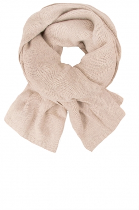 Knit-ted |  Fine knitted scarf Sam | natural