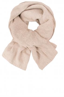Knit-ted | Fijngebreide sjaal Sam | naturel