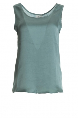 Knit-ted |  Shiny top Vienna | green