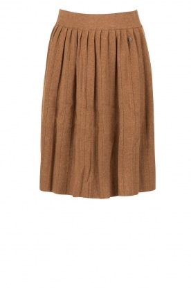 Knit-ted |  Knitted skirt Jolie | choco